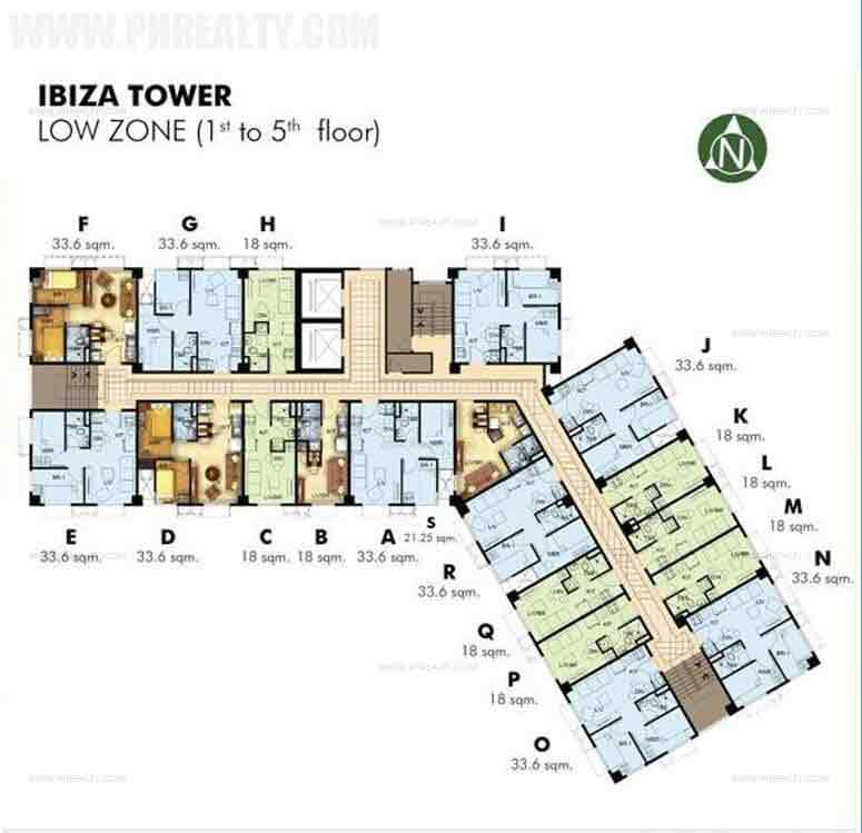 1st to 5th Floor Plan