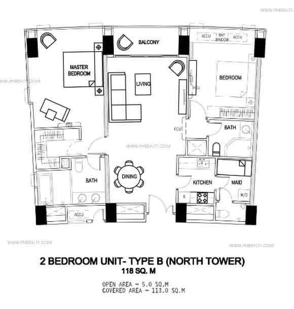 2 bedroom unit - Type B