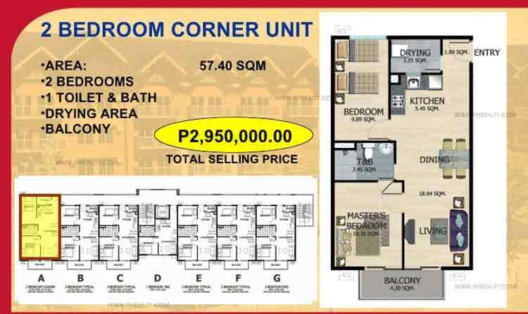 Two Bedroom Corner