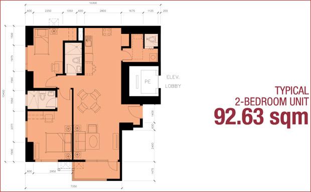 2 - Bedroom Unit