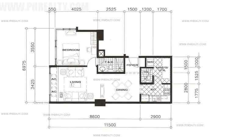 Unit 1 Bedroom