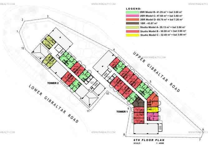 Typical 8 Floor Plan