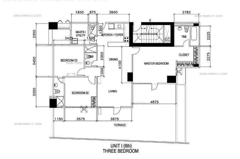 Unit I - Three Bedroom