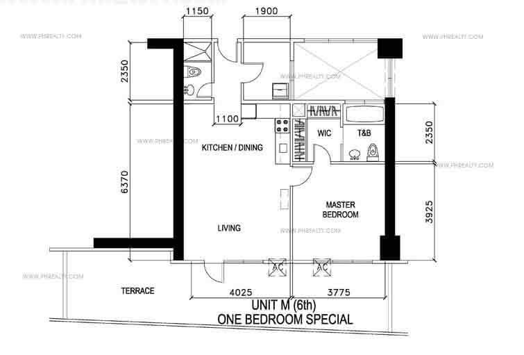 Unit M- One Bedroom Special