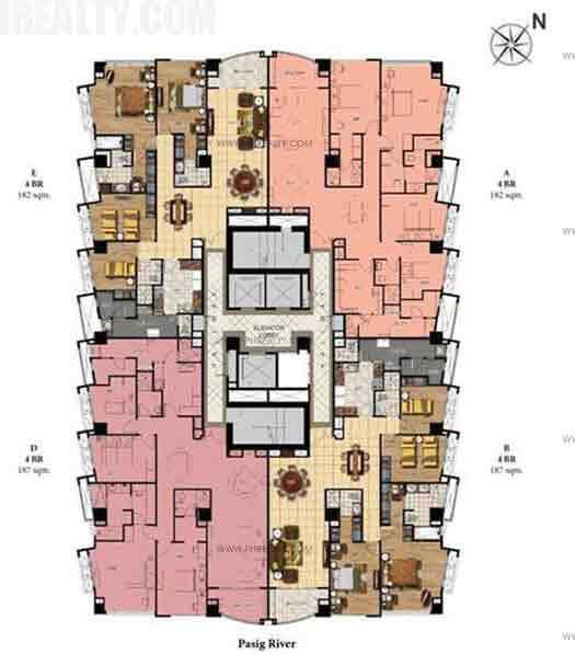 Upper House (29th - 33rd Floor) Penthouse (35th Floor)
