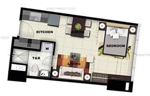 Executive 1 Bedroom Unit