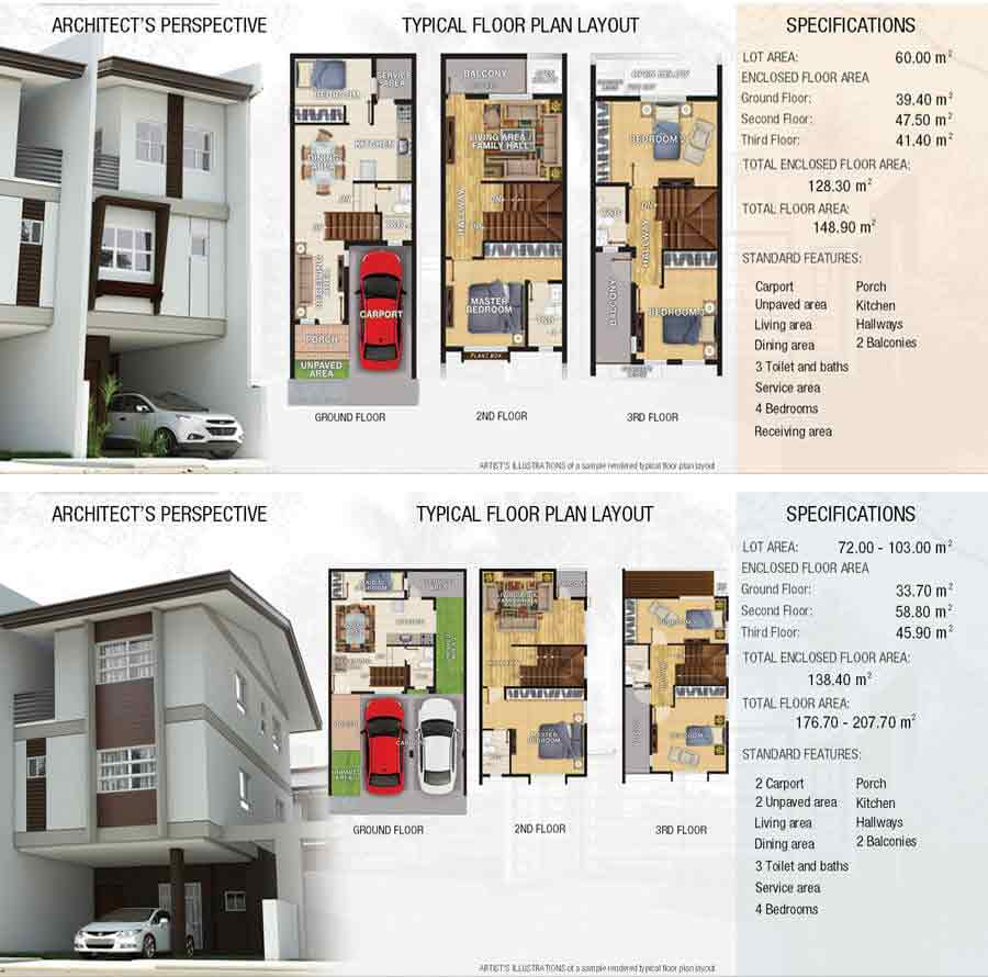 Vera 1 and Vera 2 Floor Plan