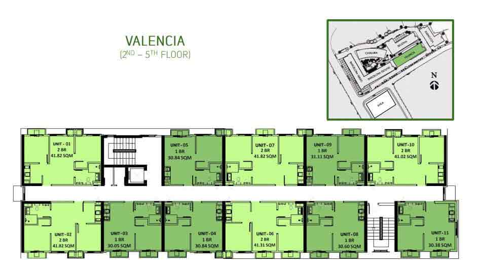 Valencia Floor Layout