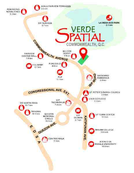 Verde Spatial Location