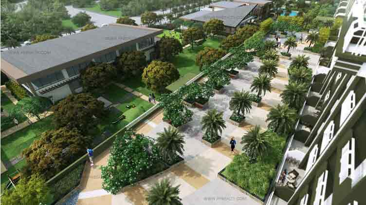 Amenities palm promenade