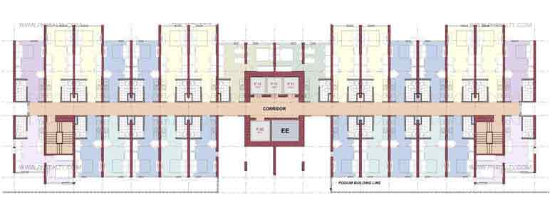 Versaflats (SOHO) Floor Plan