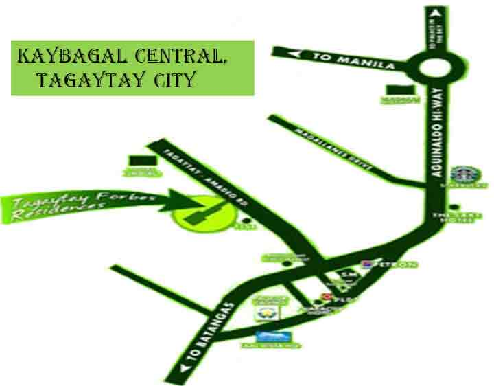 Tagaytay Forbes Residences Location