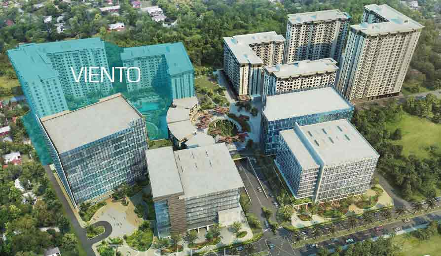 Aerial Perspective - Viento Tower