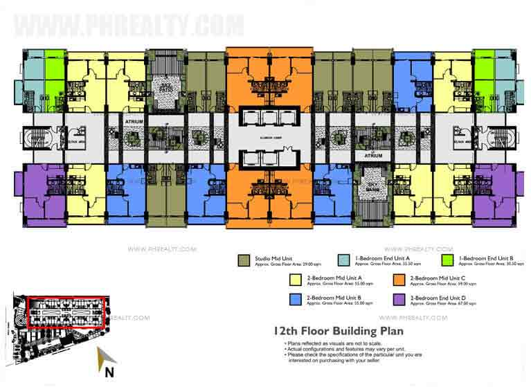 Building Floor Plan 12th Floor