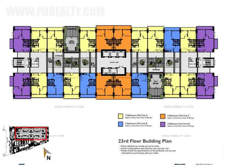 Building Floor Plan 23rd Floor