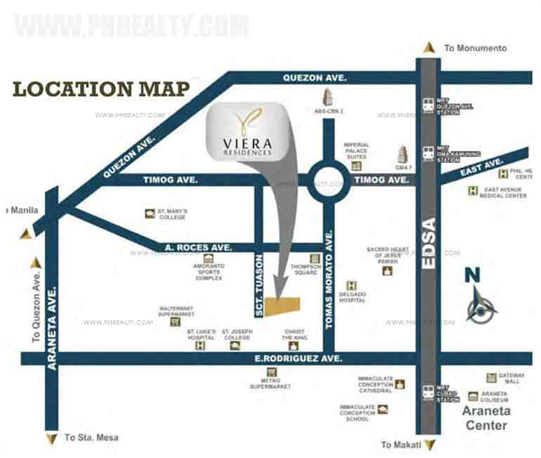 Viera Residences Location