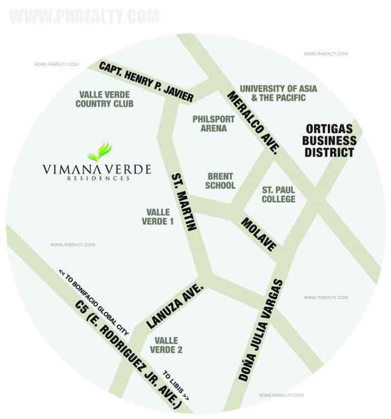 Vimana Verde Residences Location