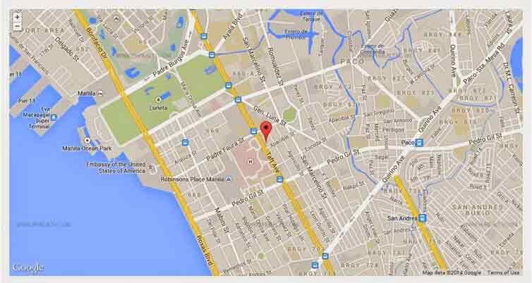 Vista Taft 1344 Location