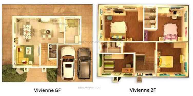 Vivienne Floor Plan