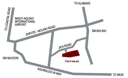 Camella Terrassa Location