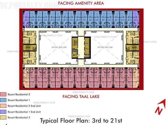 3rd - 21st Floor