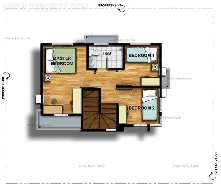 Maia Second Floor Plan