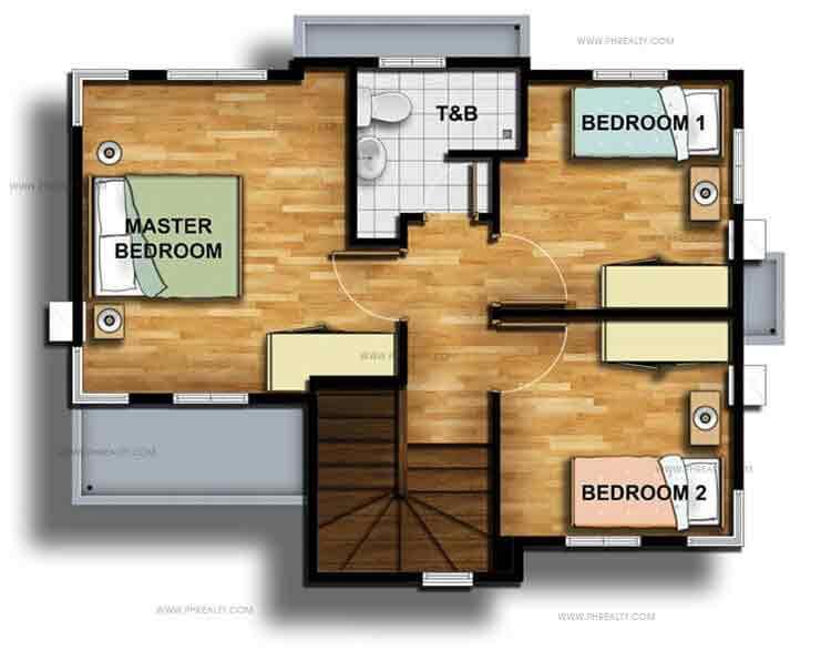 Thea Second Floor Plan