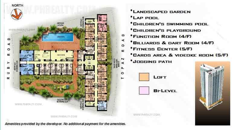 4th Floor - Recreational Facilities/Garden Units
