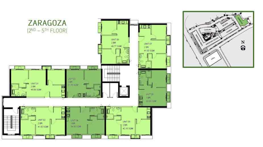 Zaragoza Floor Plan